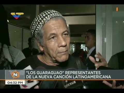 Los Guaraguao son recibidos por el pueblo en Maiquetía tras ser expulsados por gobierno hondureño