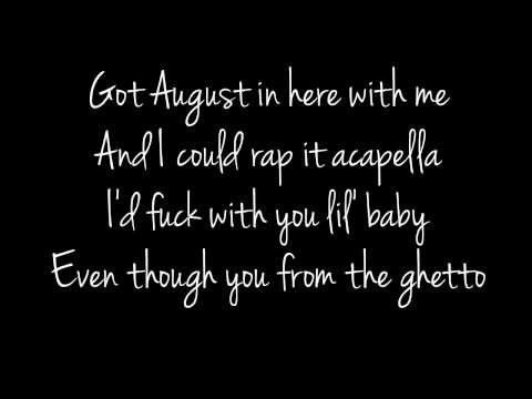 Ghetto - August Alsina ft. Rich Homie Quan Lyrics