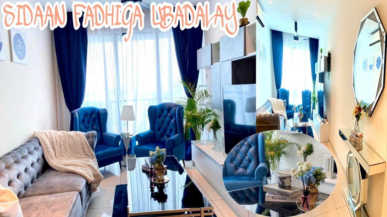 SIDAAN FADHIGA UBADALAY || MY LIVING ROOM TOUR |BEFORE & AFTER