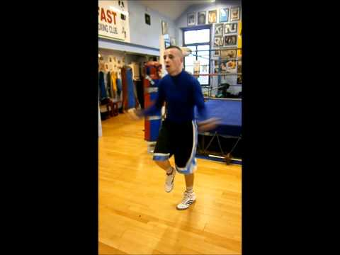 Undefeated Irish boxing prospect Dee Waldo Walsh has got some serious skipping skills