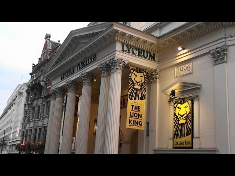 ABC London Tour Guides - The Lyceum Theatre ( The Lion King ) & Covent Garden