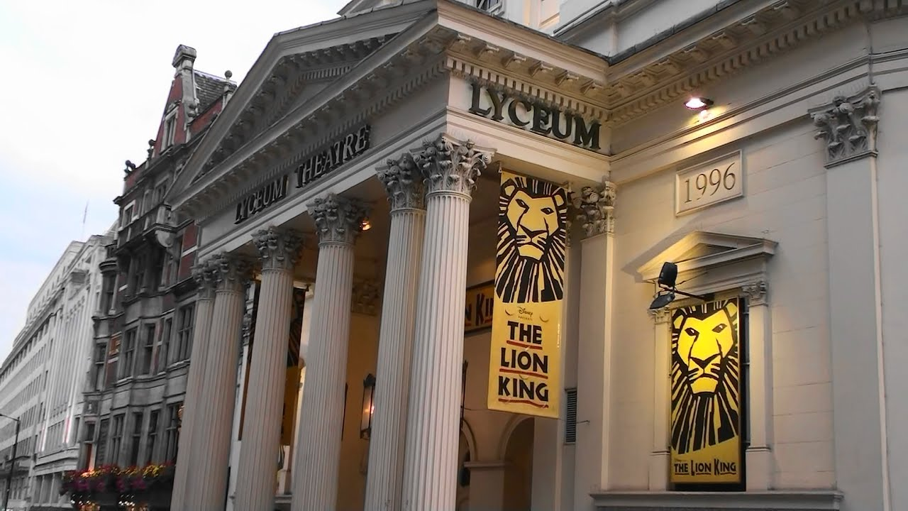 covent garden station to lyceum theatre