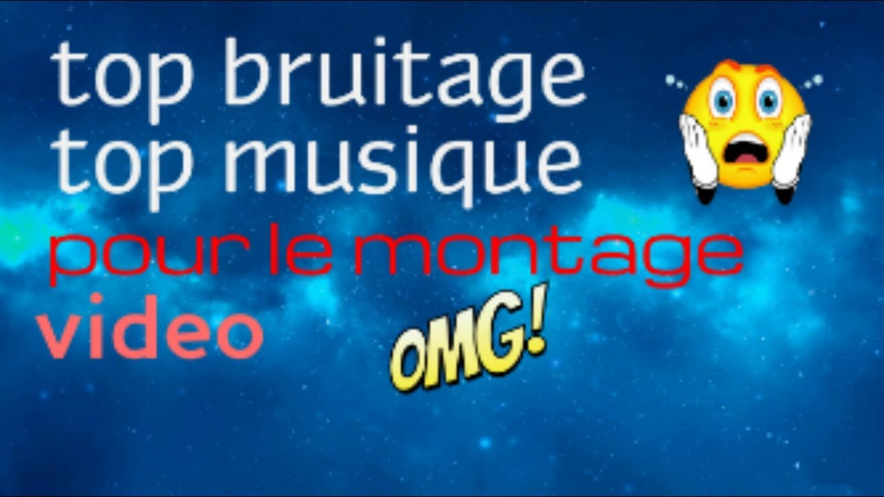 bruitage pour montage video