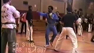 Teenage Michael Jai White Competing in 1987 Tournament