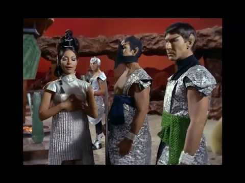 Spock being challenged by T'Pring during Pon Farr
