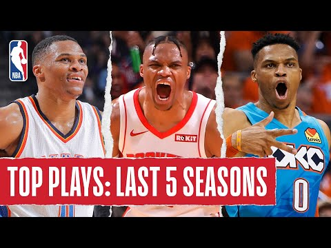 Russell Westbrook's TOP PLAYS | Last 5 Seasons