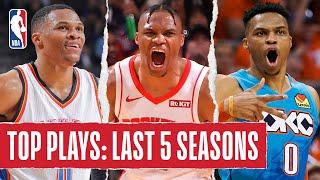 Russell Westbrook's TOP PLAYS | Last 5 Seasons