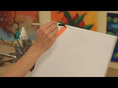 8 Acrylic Painting Techniques | Acrylic Painting