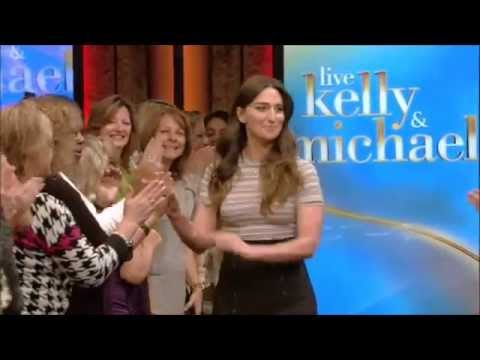 Sara Bareilles Interview and Medley On Live! with Kelly and Michael 10 09 2015