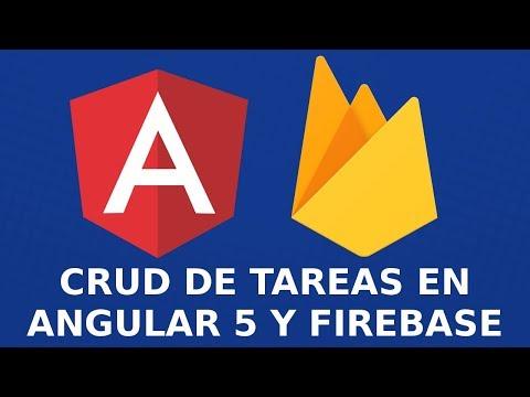 CRUD de Tareas en Angular 5 y Firebase Desde Cero