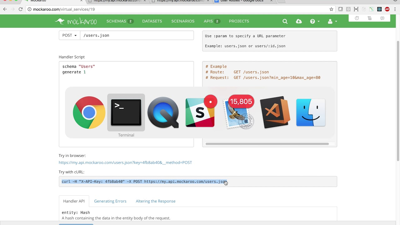 Mockaroo - Mock APIs