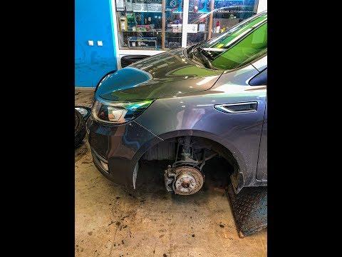 Замена тормозных дисков на Kia Rio. Taiga BDF081