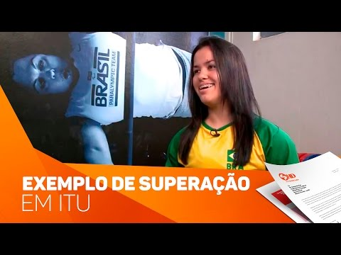 Exemplo de superação de Itu - TV SOROCABA/SBT