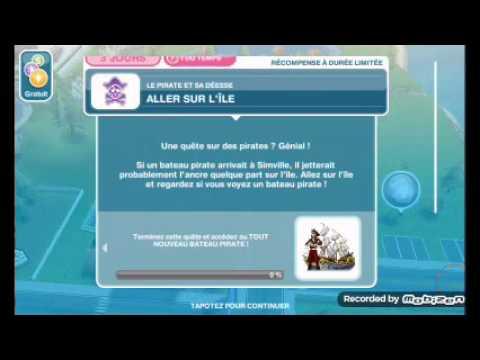 Les sims freeplay la quête le pirate et sa déesse episode 18 une nouvelle vie