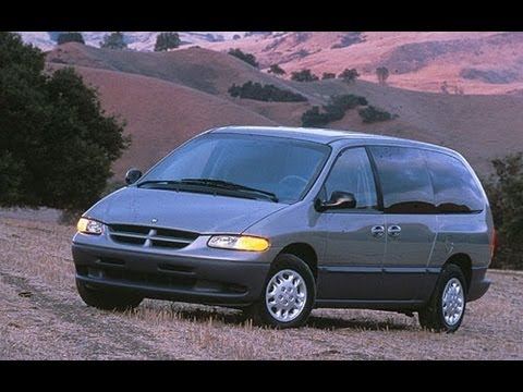 1999 Dodge Caravan Start Up And Review 24 L 4 Cylinder