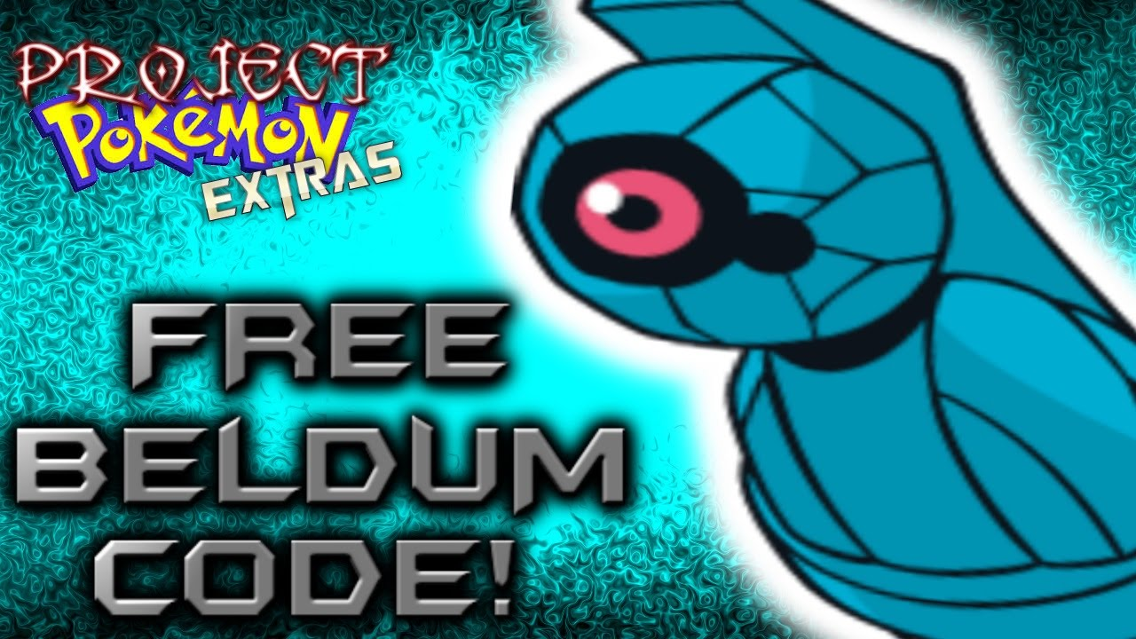 Roblox Project Pokemon Free Beldum Code