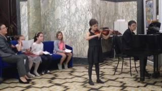 Клас по цигулка на доктор Гергана Илчева Втора част