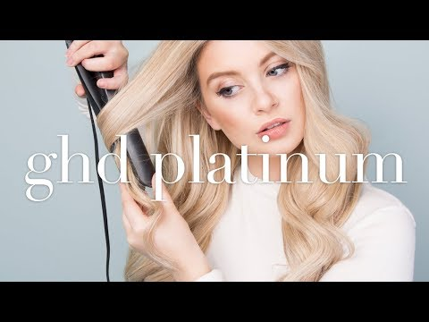 GHD Platinum REVIEW (One Year On) & TUTORIAL |  Classic WAVES/CURLS Using Straighteners/Flat Iron