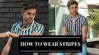 How to Wear Stripes This Summer | Menswear