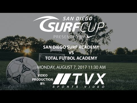 Surf Cup 2017, BU10 Super Black Finals SAN DIEGO SURF ACADEMY VS TOTAL FUTBOL ACADEMY 11:30AM
