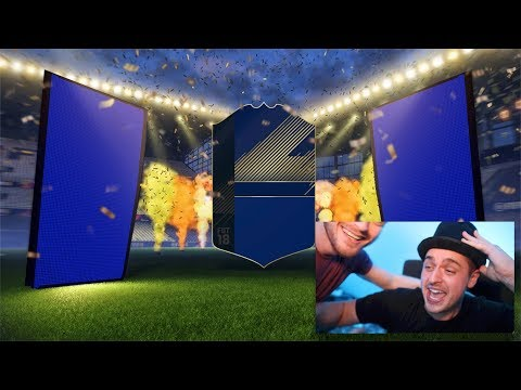 I GOT A TOTY + ICON IN A PACK!!! - FIFA 18 TEAM OF THE YEAR