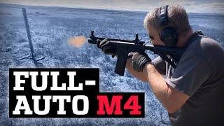 Testing a Full-Auto M-4