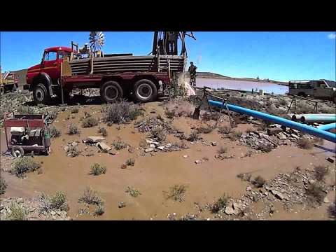 Borehole in the Karoo (200 000 l/h 53m)