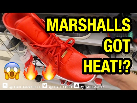 SNEAKER HUNTING FOR HEAT AT MARSHALLS!!