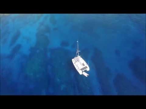 Cool Runnings in Niue drone video