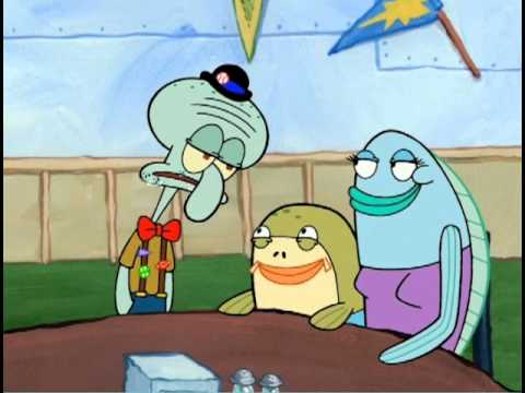 Squidward Happy Birthday