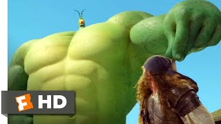 The SpongeBob Movie: Sponge Out of Water (2015) - PlankTON Vs. BurgerBeard Scene (9/10) | Movieclips