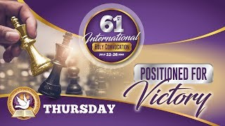 Thursday Evening - Bethel United Church 61st International Holy Convocation 2018