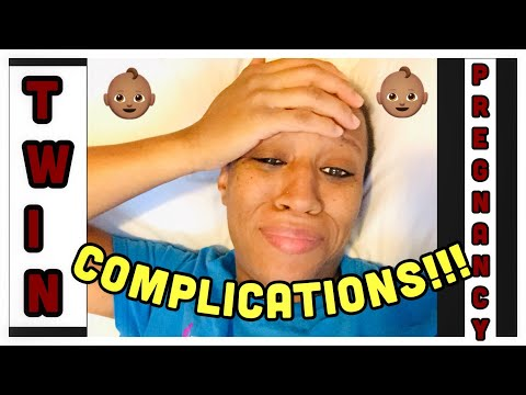 TWIN PREGNANCY COMPLICATIONS   PREGNANCY UPDATE   MOM LIFE   MOM VLOG
