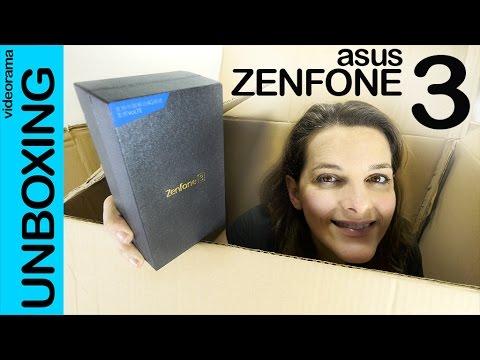 Asus Zenfone 3 unboxing preview en español | 4K UHD