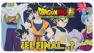 ¿SPOILERS del final? Dragon Ball Super Broly. Goku... Película
