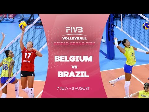 Belgium v Brazil Republic highlights - FIVB World Grand Prix