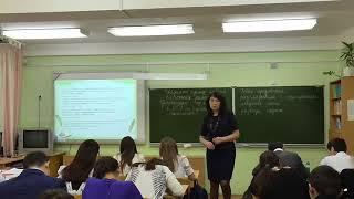 Камаева Г.Р. Открытый урок по теме