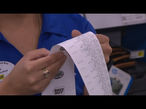 Beware BPA-tainted Receipts   Consumer Reports