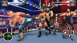 Real Wrestling Stars 2021 Games.Best Wwe Games 2021.Best Wwe Offline Games 2021 android screenshot 1