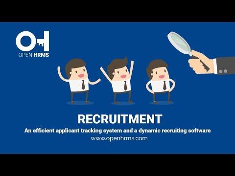 Recruitment Software | Open HRMS