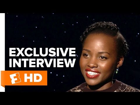 Star Wars: The Force Awakens - Exclusive Lupita Nyong'o Interview (2015) HD