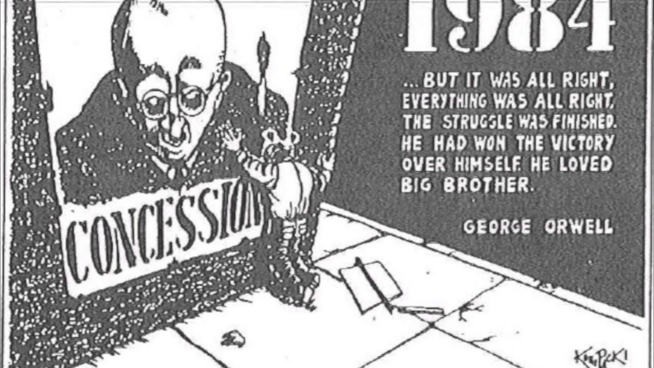 an analysis of symbolism themes and motifs in 1984 by george orwell Literature analysis full title 1984 author george orwell type of work themes, motifs & symbols themes.
