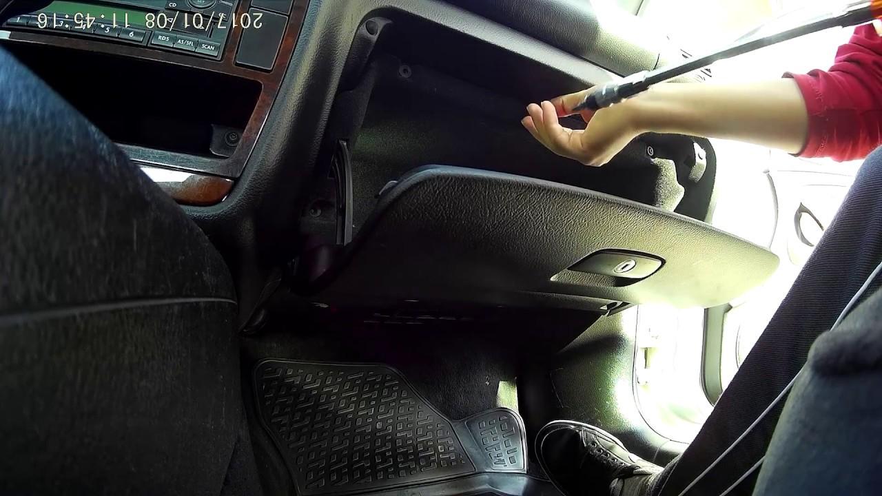 Passat B5 5 3bg Glove Box Removal Torpido Sokme