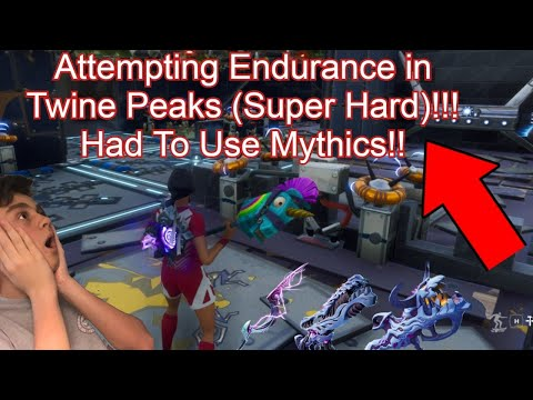 Going For Endurance Twine Peaks!!! Giveaway Tomorrow!!!
