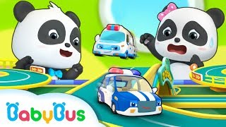 Run! Baby Panda's Toy Car Race | Car Story | Kids Role Play | BabyBus
