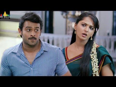 Anushka and Prabhas Scenes Back to Back | Mirchi | Latest Telugu Movie Scenes | Sri Balaji Video