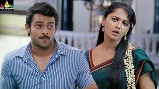 Anushka and Prabhas Scenes Back to Back | Mirchi | Latest Telugu Movie Scenes | Sri Balaji Video