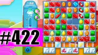 Candy Crush Soda Saga Level 422 NEW | Complete!