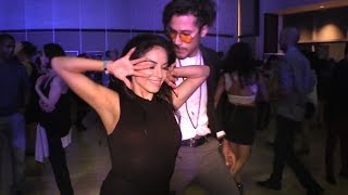Liz Lira & Rodrigo Guzman social salsa dancing @ LASF'18!