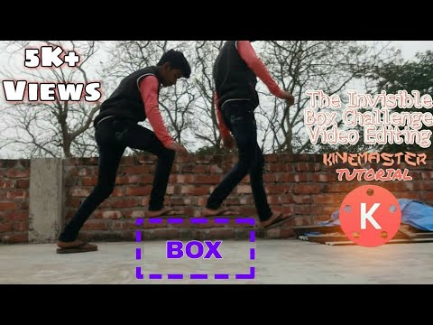 How to make the Invisible Box Challenge Video Editing Tutorial On Kinemaster
